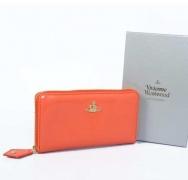 ヴィヴィアン ウエストウッド VIVIENNE WESTWOOD OPIO SAFFIANO WALLET 321525 ORANGE 二つ折りウォレット 長財布 レディース オレンジ_品質保証