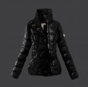 2017-2017年モデル入荷 モンクレール レディース ダウンジャケット 品質保証 MONCLER 人気 ブラック ダウンコート オシャレ 高級