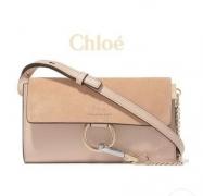 新品 大人気 クロエ CHLOE コピー FAYE フェイ スモール ショルダーバッグ カーフスキン レザー レディース バッグ お買い得品質保証 Pink