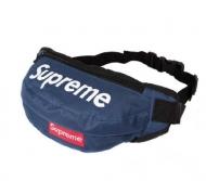SUPREME 通販 安い ウエストポーチ 2018人気 シュプリーム ショルダーバッグ メンズ ナイロン ブルー ボックスロゴ ユニセックス レディース メンズ 兼用
