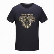 海外セレブ定番愛用  ヴェルサーチ VERSACE 2色可選   半袖Tシャツ 2018春夏新作