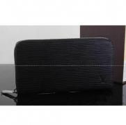人気 ブラック 長財布 ルイヴィトン LOUIS VUITTON ポルトフォイユ・クレマンス M60915 財布メンズ エピ・レザー 高品質 黒