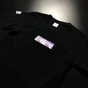 最新作シュプリーム Tシャツメンズ ザ ノースフェイスThe North Face/SUPREMEボックスロゴプリント半袖コットンホワイトブラック綿Tee