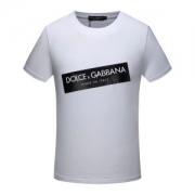 ドルチェ&ガッバーナDOLCE&GABBANAコットンTシャツ切り替えデザインメンズ半袖ボックスロゴブラック白レッドクルーネック人気アイテムクルーネックG8HS4TFU7EQW0800