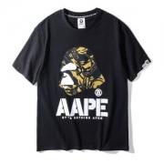 春先に重宝 2色可選 ア ベイシング エイプ A BATHING APE  2018年夏の王道ブランド!半袖Tシャツ