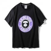2018年夏の王道ブランド! 半袖Tシャツ ア ベイシング エイプ A BATHING APE 激レア 限定  2色可選