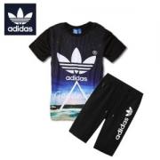 人気爆発アディダス Tシャツadidasロゴプリント半袖半パンツショートパンツメンズレディースイージーパンツ夏服セット2018年上品多色