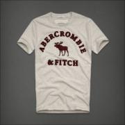 2018年夏の王道ブランド! アバクロンビー&フィッチ Abercrombie & Fitch 半袖Tシャツ 激安上品 2色可選 モードな逸品