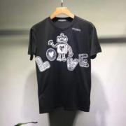 ドルガバ 偽物人気DOLCE&GABBANA半袖可愛いロボットTシャツレディースコットンカジュアルクルーネック永遠の定番新品