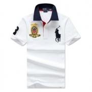 2018年最新人気Polo Ralph Laurenコットンポロラルフローレンポロシャツメンズブラック半袖ロゴ入り綿ホワイトイエロー品質保証