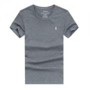 ポロラルフローレンPolo Ralph Laurenメンズ定番クルーネックコットン半袖TシャツRL10009シンプル刺繍ロゴカジュアル綿グレーホワイト多色