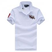 新作ポロラルフローレン ポロシャツ2018春夏商品人気Polo Ralph Laurenホワイトコットン3Dライオン刺繍ロゴブラック4色高級感