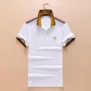 夏Style◆ヴェルサーチ ブランド ポロシャツ コピーVERSACE新品2018人気爆発 好評品ホワイト 半袖 お得安い