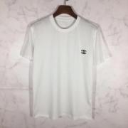 HOT品質保証ロゴ付きtシャツ快適インナーソフトライトブラックホワイトtシャツ活躍シャネル スーパー コピー
