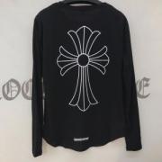 2018新年度人気入荷 長袖Tシャツ クロムハーツ CHROME HEARTS  男女兼用 2色可選