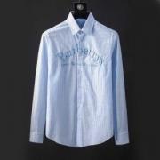 Burberry メンズ長袖シャツスーパーコピー刺繍ロゴバーバリー コピー 服 大人の上質万能シャツ 洗練さの一枚 100%品質保証 滑らかな肌ざわり
