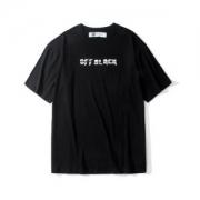 最新ファッションのポイント 2019魅力的な新作 Off-White オフホワイト 半袖Tシャツ OFF BLACK 2色可選