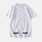 着こなしが簡単につくれる 2019トレンドスタイル! Off-White オフホワイト 半袖Tシャツ OFF-WHITE 2色可選