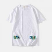Off-White オフホワイト 半袖Tシャツ OFF-WHITE 2色可選 もっとファション感を表現される 2019魅力的な新作