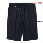 日本では手に入らない限定 アルマーニ ジーンズ コピー ARMANI ブラック ショートパンツ パンツ メンズファッション 品質保証
