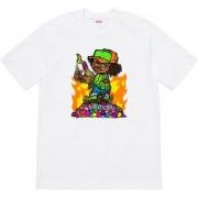 2色可選 たくさん歩く日にも大活躍 Supreme 19ss Molotov Kid Tee Tシャツ/半袖 唯一無二の存