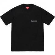 2色可選着やすい色味  Supreme 19SS Mesh Stripe Pocket Tee Box logo 爆発的な人気 Tシャツ/半袖