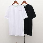 個性的な印象に仕上がり  オフホワイト OFF-WHITE  半袖Tシャツ  2019春夏新作登場  2色可選