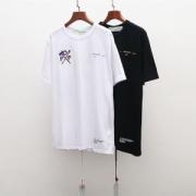 優しい雰囲気を与えてくれる  オフホワイト OFF-WHITE  半袖Tシャツ  2019春夏新作登場  2色可選