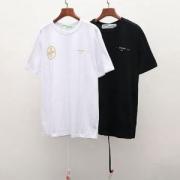最新ファッションのポイント  半袖Tシャツ  オフホワイト OFF-WHITE  2019魅力的な新作  2色可選