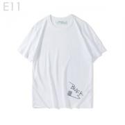 シンプルで大人っぽい印象が素敵  半袖Tシャツ  2019春夏新作登場  2色可選  オフホワイト OFF-WHITE