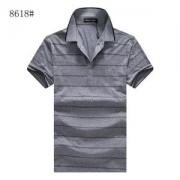 アルマーニ ポロシャツ サイズ 大きい ARMANI メンズ tシャツ コピー 四色可選 トップス ストライプ ゆったり 軽量 無地