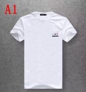 アルマーニ コピー ARMANI 多色可選 半袖 Tシャツ ロゴ入り 無地 コットン カットソー メンズ カジュアル 通気性 ゆったり