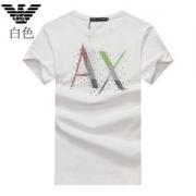 アルマーニ tシャツ 値段 激安 コピー ARMANI 三色可選 半袖 ゆったり ロゴ プリント トップス コットン カットソー カジュアル