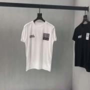 ヴィトン 半袖 コピー LOUIS VUITTON 五分袖 tシャツ カットソー 二色可選 トップス カジュアル ゆったり 通気性 無地