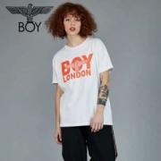 ボーイロンドン 服 レディース コピー BOY LONDON 半袖 Tシャツ ホワイト オシャレ 可愛い プリント トップス 大人気 通販