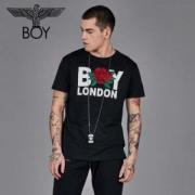 BOY LONDON ボーイロンドン 通販 Tシャツ 激安 コピー ブラック ローズ プリント ロゴ トップス メンズ オシャレ 高品質