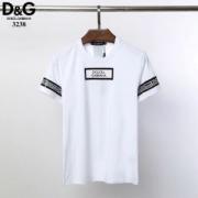 Dolce & Gabbana メンズ tシャツ ストリートにも雑誌にも大活躍 ドルチェ&ガッバーナ コピー カジュアル 2色可選 品質保証