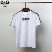 ドルガバ Dolce & Gabbana トップス カジュアル感が溢れたアイテム コピー D.G.Kingパッチ ジャージ Tシャツ 2色可選 激安
