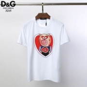 Dolce & Gabbana ドルガバ tシャツ コピー 着こなしが簡単に作れるアイテム ソフト コーデ ブラック ホワイト 最低価格