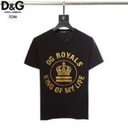 ドルガバ Dolce & Gabbana ユニセックス tシャツ 有名人などにも愛着 コピー ブラック ホワイト 品質保証 G8IA8THH7L1HNK42