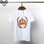 Dolce & Gabbana メンズ tシャツ ストリートなどにも大活躍アイテム ドルガバ スーパーコピー ブラック ホワイト 最低価格