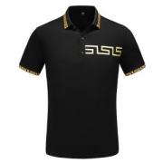 ヴェルサーチ ポロシャツ 新作 毎日でも使える人気の限定新作 コピー VERSACE ブラック ホワイト 高品質 日常っぽい