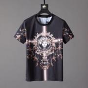 高級感がUP! ヴェルサーチ 2019トレンドスタイル! VERSA ファッション感が満点 半袖Tシャツ 個性的になりすぎ