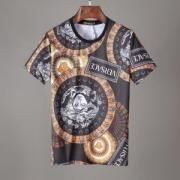 ヴェルサーチ tシャツ コピー オシャレさんに一番オススメな限定新作 VERSACE 大注目 メンズ ユニーク プリント 品質保証