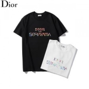 2色可選 大人っぽく見せてくれ ディオール 柔らかで軽い印象を与える DIOR カジュアル感を出す 半袖Tシャツ 2019に人気もまだまだ継続しています