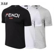 3色可選 ス上品なカジュアルコーデに 半袖Tシャツ 2019魅力的な新作 フェンディオシャレに見せられます FENDI 大人っぽい雰囲気