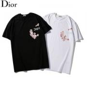 清潔感があり  半袖Tシャツ春夏着用をおすす ディオール2019春夏新作登場  DIOR 絶対購入したい 2色可選 人気アイテム