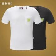 Tシャツ/半袖モダンスタイル2色可選フィリッププレイン 2019夏に意外と人気な新作 PHILIPP PLEIN