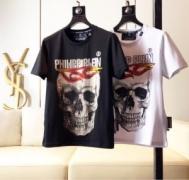 2色可選フィリッププレイン PHILIPP PLEIN2019年夏の一押しファッションアイテム Tシャツ/半袖 柔らかい印象になり