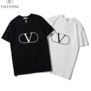 クールな印象に見せる 2019夏季新作2色可選 優れもの Tシャツ/半袖ヴァレンティノ VALENTINO